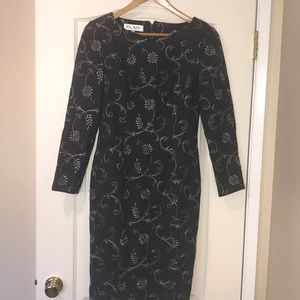Size 6 Bill Blass Holiday Dress